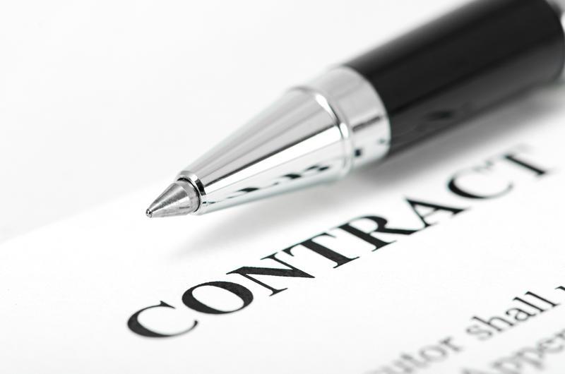 kynä ja sopimus